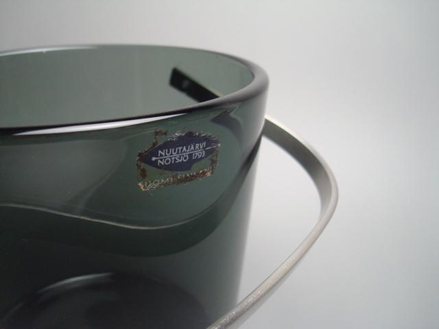 Nuutajarvi Ice Bucket 1373 gray