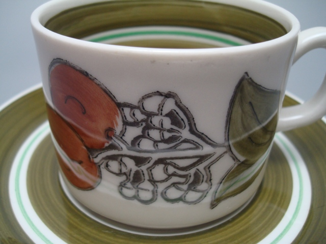 Gefle Julia Coffee Cup & Saucer