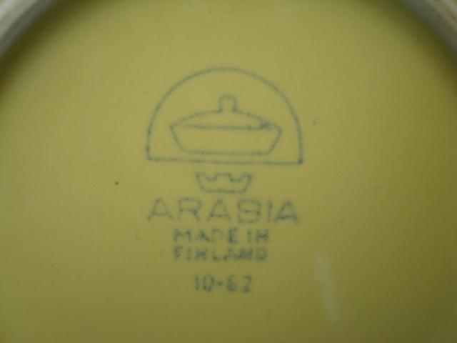 Arabia Kilta Bowl yellow