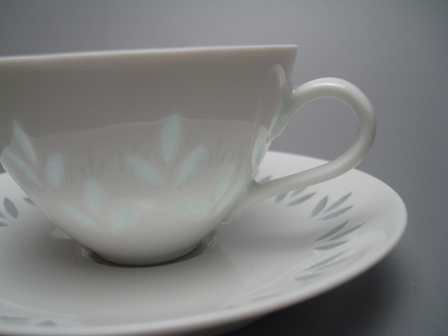 Arabia Rice Demitasse Cup & Saucer