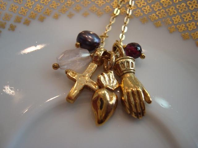 Corpus Christi Petit Mix Necklace
