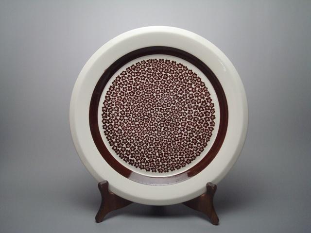 Arabia Faenza Plate L brown