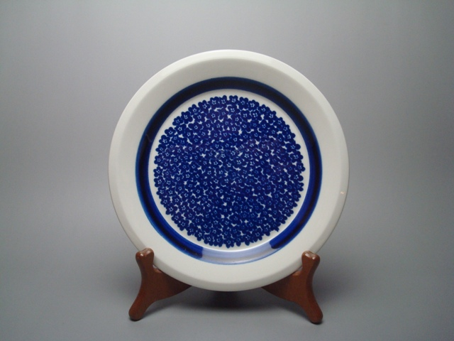 Arabia Faenza Plate S blue