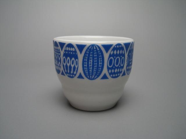 Arabia Egg Cup blue