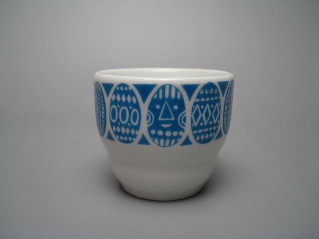 Arabia Egg Cup lightblue
