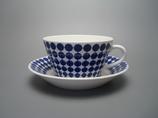 Gustavsberg Adam Tea Cup & Saucer