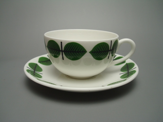 Gustavsberg Bersa Coffee Cup & Saucer