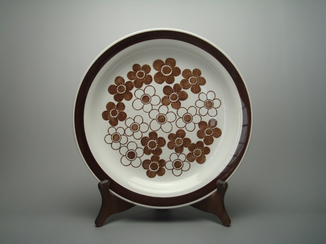 Rorstrand Anemon Plate L brown