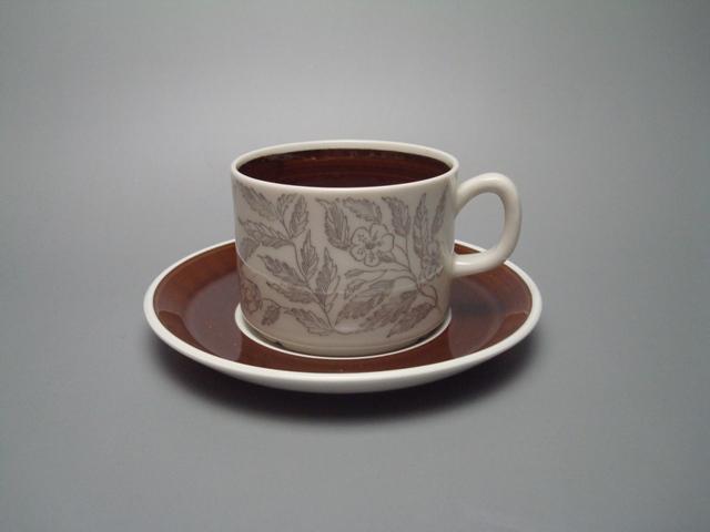 Gefle Fontana Coffee Cup & Saucer