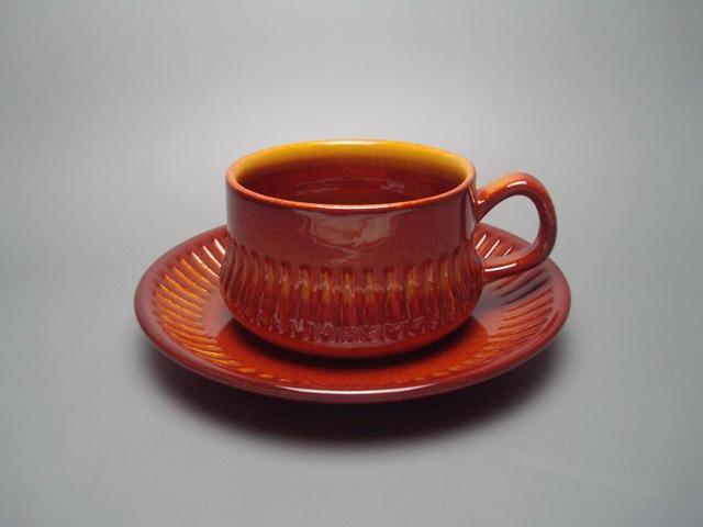 Gefle Kaskad Tea Cup & Saucer